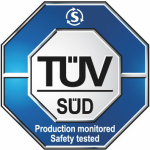 TUV Production monitored safety tested